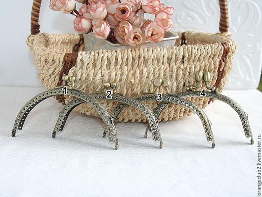 Другие виды рукоделия ручной работы. Ярмарка Мастеров - ручная работа. Купить 12,5 см Фермуар пришивной 4 вида. Handmade.