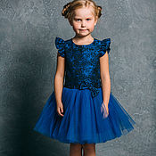 Работы для детей, ручной работы. Ярмарка Мастеров - ручная работа Пышное платье для девочки «Сказочная принцесса» (99). Handmade.