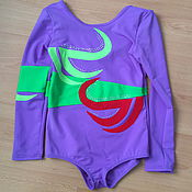 """Одежда ручной работы. Ярмарка Мастеров - ручная работа купальник с рукавами """"Виктория"""" для девочки. Handmade."""