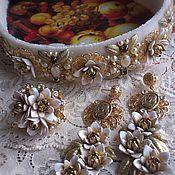 """Свадебный салон ручной работы. Ярмарка Мастеров - ручная работа Комплект """"Ваше величество"""". Handmade."""