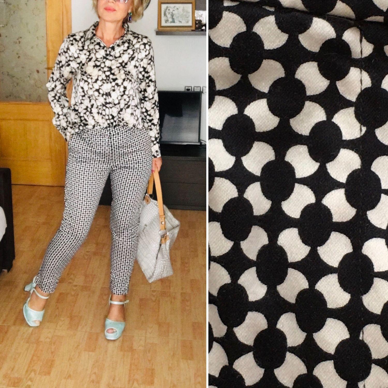 Винтаж: Винтаж: H&M стильные брюки, Швеция!, Одежда винтажная, Новороссийск,  Фото №1