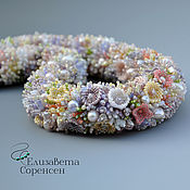 Украшения handmade. Livemaster - original item Harness of beads Flower meadow. Handmade.