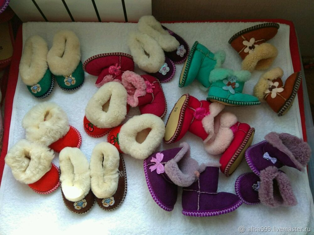 Fur stroller shoes 10,5 cm foot, Footwear for childrens, Moscow,  Фото №1