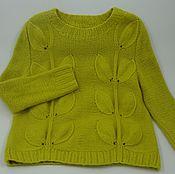 Одежда ручной работы. Ярмарка Мастеров - ручная работа Мега-листья. Handmade.