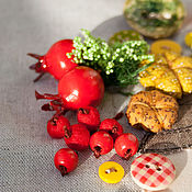 Для дома и интерьера ручной работы. Ярмарка Мастеров - ручная работа Текстильное панно с кармашками, органайзер, кармашки в детскую. Handmade.