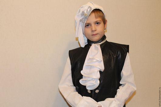 Детские карнавальные костюмы ручной работы. Ярмарка Мастеров - ручная работа. Купить Костюм Глашатого. Handmade. Черный, лён