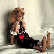 Куклы и игрушки ручной работы. Ярмарка Мастеров - ручная работа зай Ричард. Handmade.