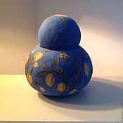 Посуда ручной работы. Ярмарка Мастеров - ручная работа Чайница Английская фруктовая. Handmade.