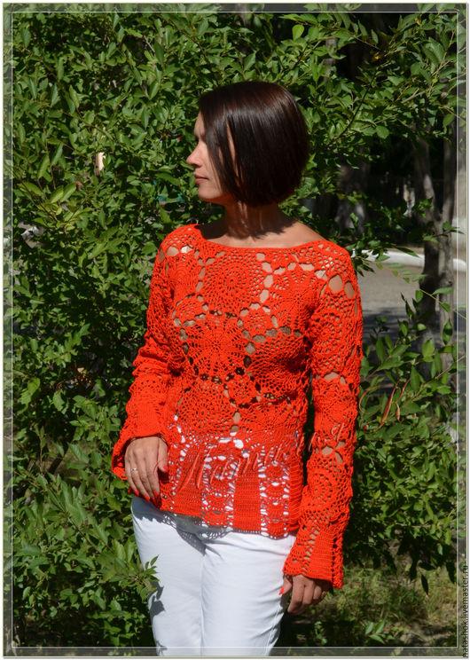Ажурная блузка в омске