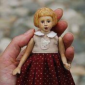 Куклы и игрушки ручной работы. Ярмарка Мастеров - ручная работа Деревянная кукла Оленька. Handmade.