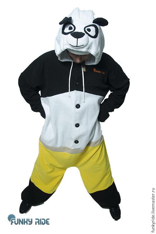Costume kigurumi fleece Kung fu Panda, Cosplay costumes, Magnitogorsk,  Фото №1