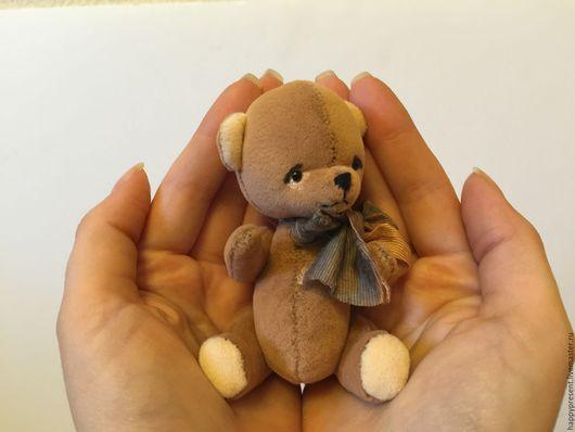 Мишки Тедди ручной работы. Ярмарка Мастеров - ручная работа. Купить Медвежонок Бисквит. Handmade. Мишка, для детей, ручная работа