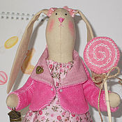 Куклы и игрушки ручной работы. Ярмарка Мастеров - ручная работа Карамельная Зайка. Handmade.