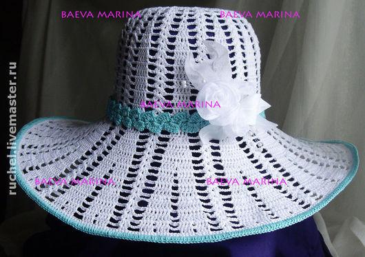 """Шляпы ручной работы. Ярмарка Мастеров - ручная работа. Купить Шляпа """"Laura"""". Handmade. Шляпа вязаная, головные уборы для женщин"""