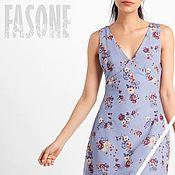 Одежда handmade. Livemaster - original item dresses: Blue dress