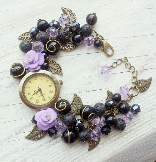 """Часы ручной работы. Ярмарка Мастеров - ручная работа. Купить Часы ручной работы """"Кармен"""". Handmade. Часы ручной работы"""