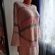 Одежда ручной работы. Ярмарка Мастеров - ручная работа Пуловер нарядный. Handmade.