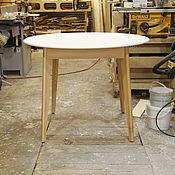 Столы ручной работы. Ярмарка Мастеров - ручная работа Круглый раздвижной стол PW0041. Handmade.