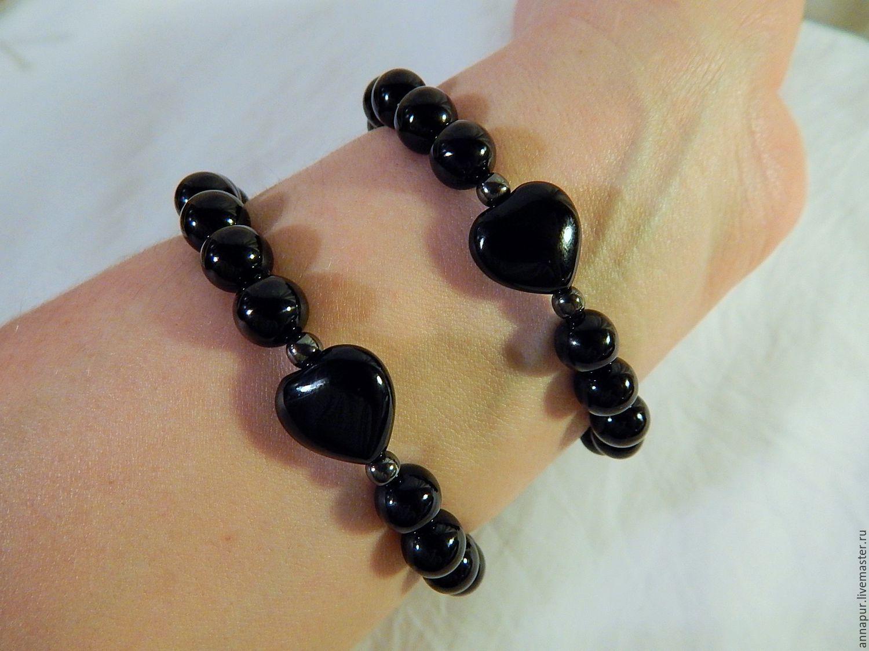 Парные браслеты для влюбленных Храброе сердце