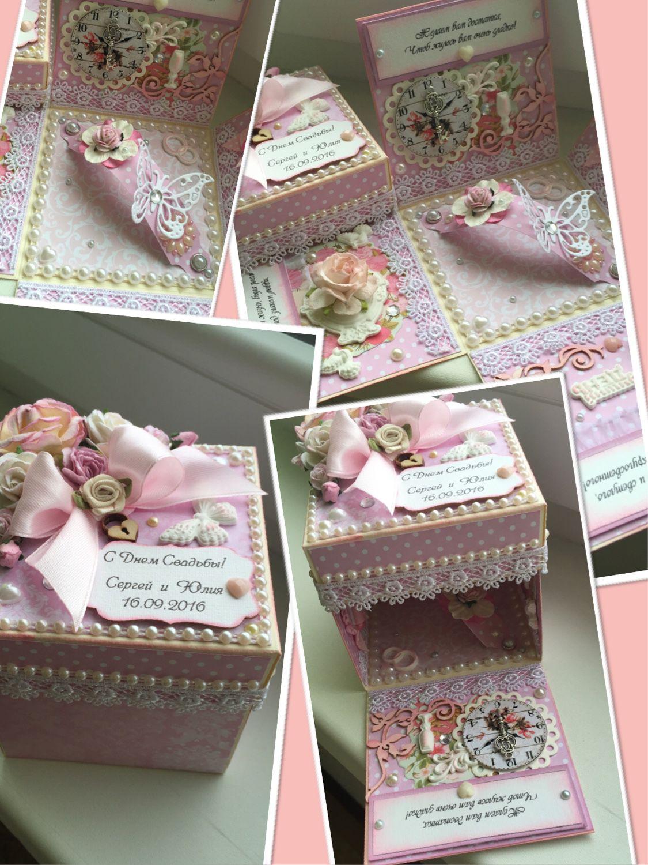 Свадебные коробочки для подарка 21