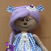 Куклы и игрушки ручной работы. Ярмарка Мастеров - ручная работа Авторская кукла Хомячок Грушенька. Handmade.