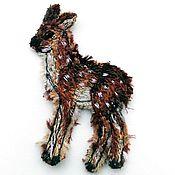 Материалы для творчества handmade. Livemaster - original item Author`s patch (applique) handmade Deer. Handmade.