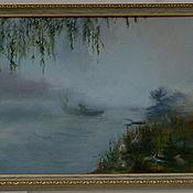 """Картины и панно ручной работы. Ярмарка Мастеров - ручная работа Картина """"Туман"""". Handmade."""