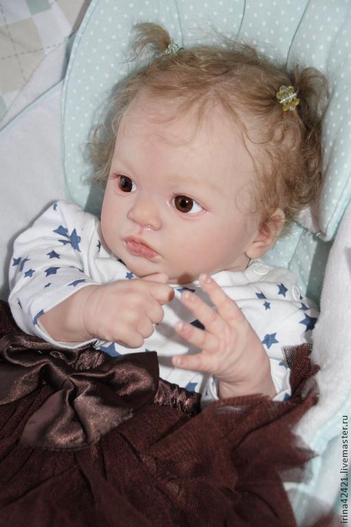 Куклы-младенцы и reborn ручной работы. Ярмарка Мастеров - ручная работа. Купить Кукла реборн Джулия.. Handmade. кукла младенец