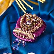 Украшения ручной работы. Ярмарка Мастеров - ручная работа Королевское...(Корона Amethyst ). Handmade.