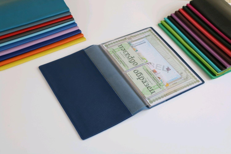 Органайзер для документов формат А4 темно-синий, Папки, Москва,  Фото №1