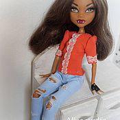 Куклы и игрушки ручной работы. Ярмарка Мастеров - ручная работа Одежда для куклы Монстер Хай (Monster High). Handmade.