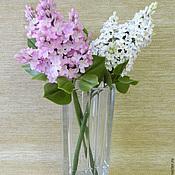 Composition handmade. Livemaster - original item Branches of lilac. Handmade.