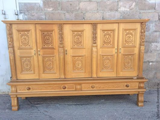 Мебель ручной работы. Ярмарка Мастеров - ручная работа. Купить Шкаф. Handmade. Комбинированный, винтаж