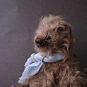 Мишки Тедди ручной работы. Ярмарка Мастеров - ручная работа Тедди мишка Федя. Handmade.