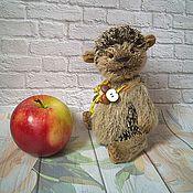 Куклы и игрушки ручной работы. Ярмарка Мастеров - ручная работа Тедди ёжик -Жорик (Дом нашел). Handmade.