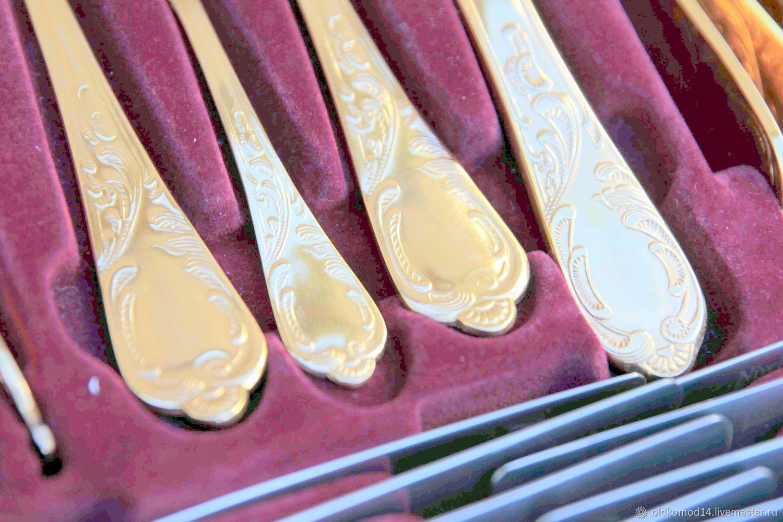 Роскошный набор столовых приборов в кейсе, Утварь, Москва,  Фото №1