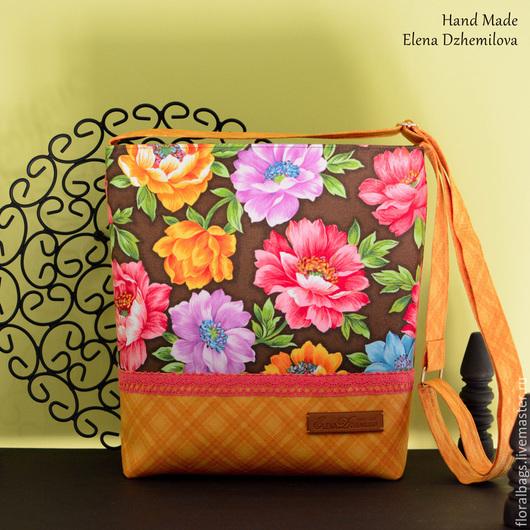 Женские сумки ручной работы. Ярмарка Мастеров - ручная работа. Купить Солнечный цветок. Handmade. Разноцветный, сумочка ручной работы