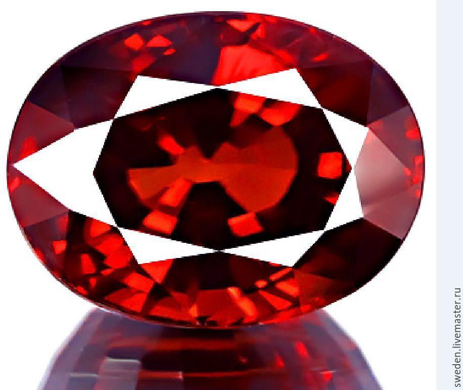 Rhodolite GARNET oval shape 1,20 carats, Beads1, Moscow,  Фото №1