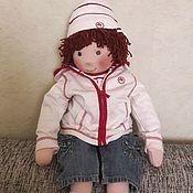 Куклы и пупсы ручной работы. Ярмарка Мастеров - ручная работа Текстильная кукла-Мальчик. Handmade.