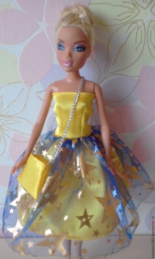 Одежда для кукол ручной работы. Ярмарка Мастеров - ручная работа. Купить Платье для Барби. Стиляга.. Handmade. Платье для Барби