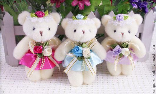 Куклы и игрушки ручной работы. Ярмарка Мастеров - ручная работа. Купить Мишки для кукол (12см). Handmade. Мишки, аксесуары для кукол