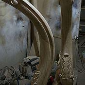 Для дома и интерьера ручной работы. Ярмарка Мастеров - ручная работа Заходной столб для лестницы. Резной столб Капля. Handmade.
