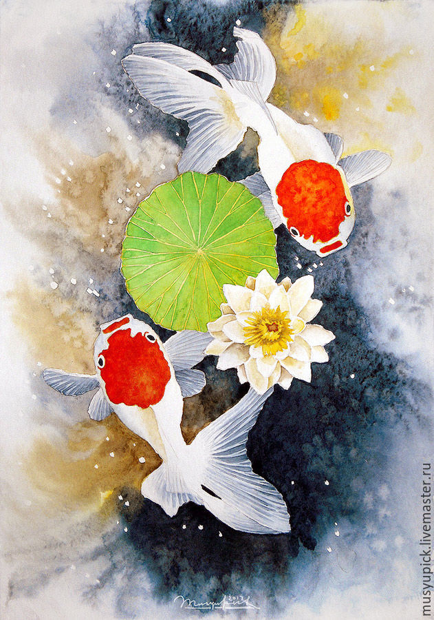 Watercolour Pisces, Pictures, Roslavl,  Фото №1