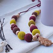 Одежда handmade. Livemaster - original item Slingobuses with an oak leaf. Handmade.