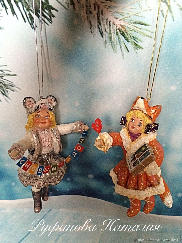 """Ватная игрушка:""""Девочка лисёнок """", Кукольный театр, Москва,  Фото №1"""