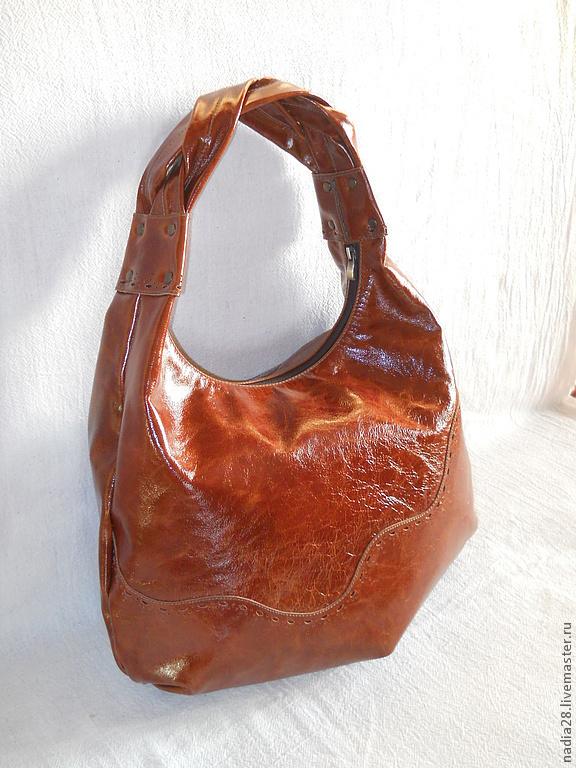 Кожаные сумки ручной работы - купить в Москве и Санкт