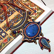 """Украшения ручной работы. Ярмарка Мастеров - ручная работа Колье """"Восточный мотив"""". Handmade."""