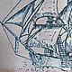 Пейзаж ручной работы. Заказать Парусник. Лавка чудес для добрых сердец (mariannapsy). Ярмарка Мастеров. Гильоширование, ткань