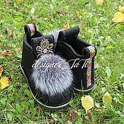 """Обувь ручной работы. Ярмарка Мастеров - ручная работа Валенки, модель """"Сибирские"""". Handmade."""