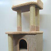 """Для домашних животных, ручной работы. Ярмарка Мастеров - ручная работа Домик для кошек  """"Аккорд"""" подходит для крупных кошек.. Handmade."""
